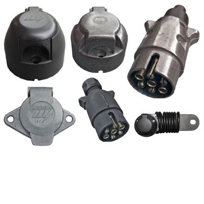 7-Pin Plugs / Sockets
